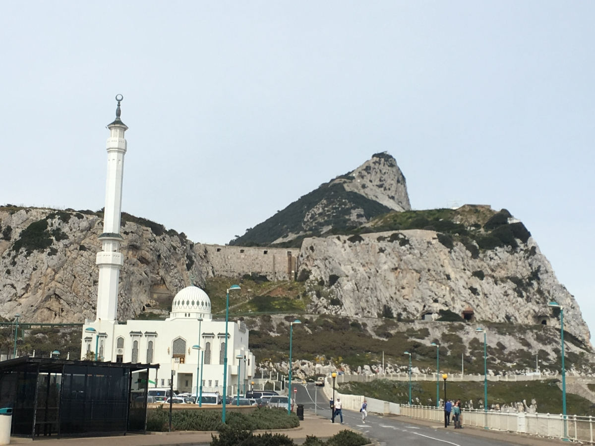 Blick The Rock of Gibraltar