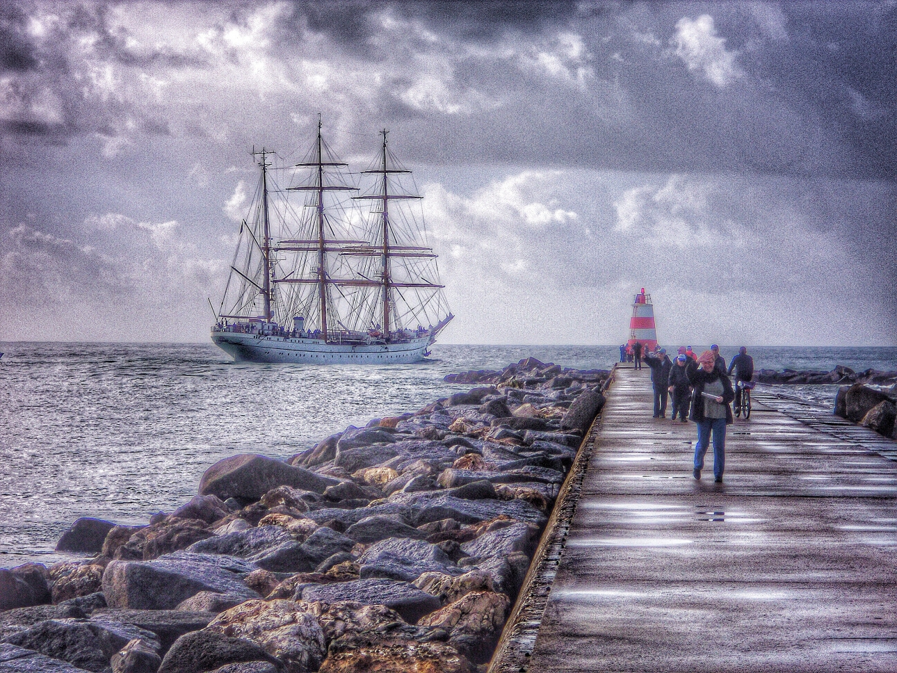 Gorch Fock in Portimao