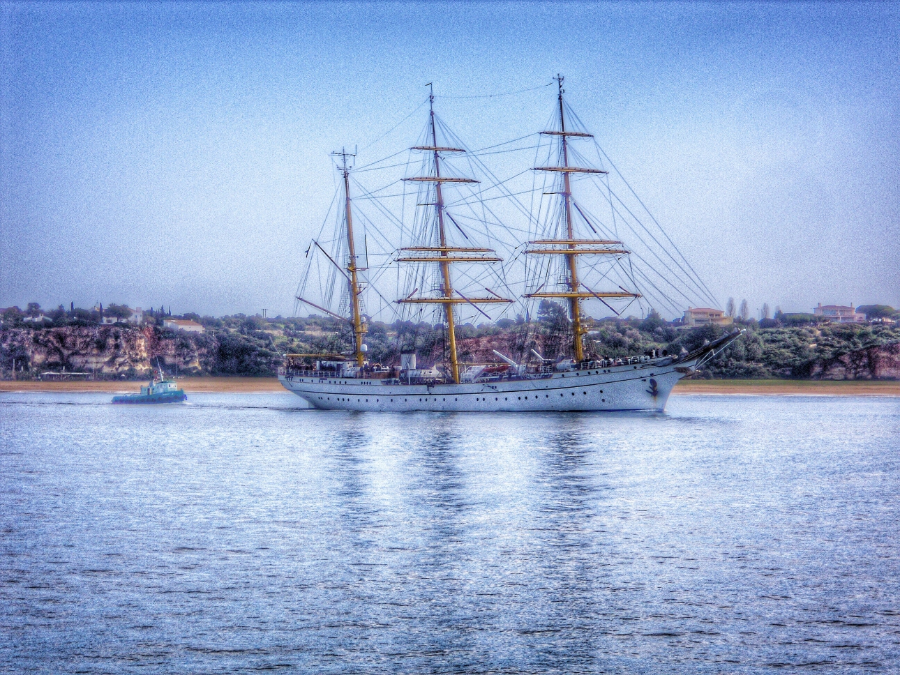 Gorch Fock in Portimao 2014