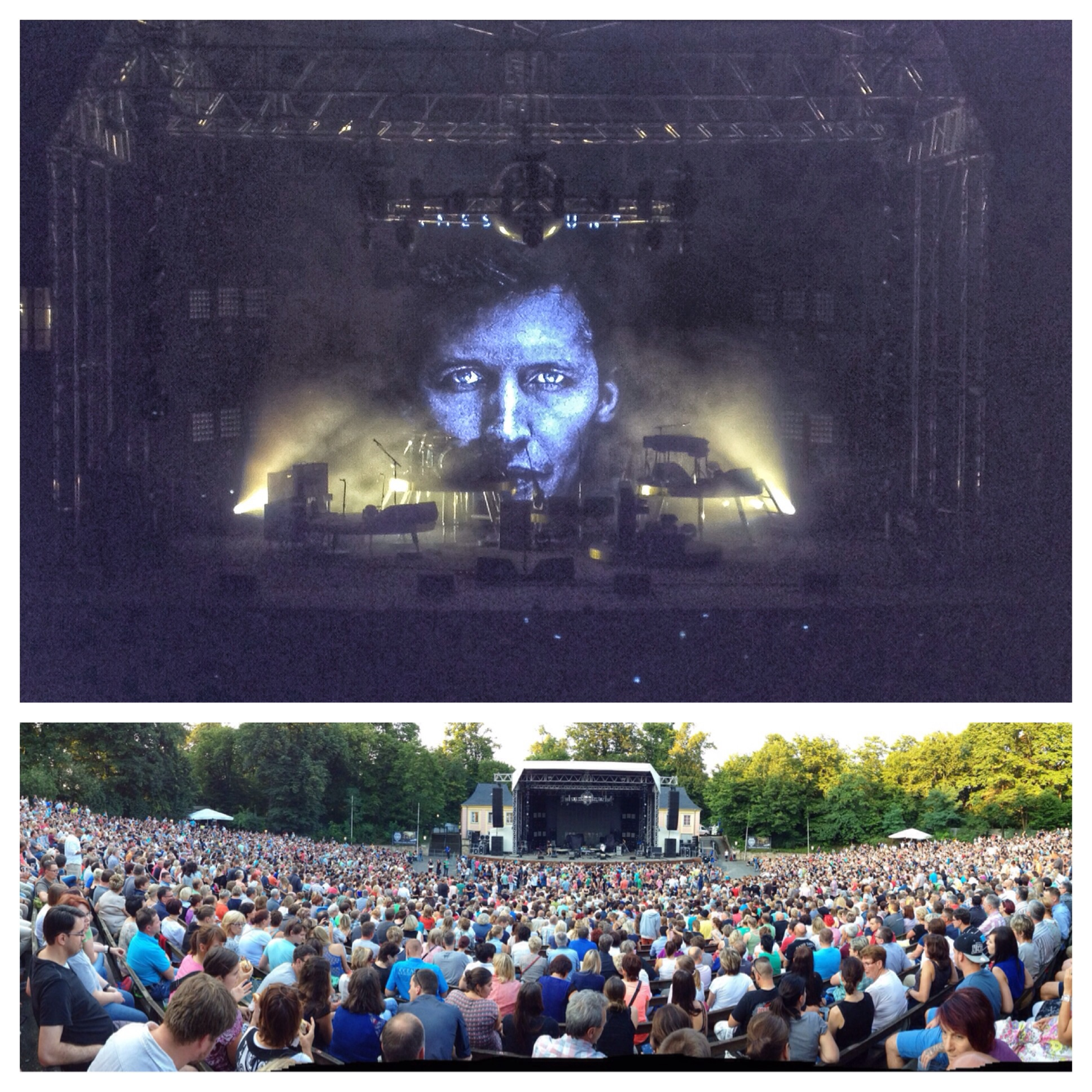James Blunt in Dresden